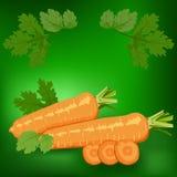 Моркови Здорово иллюстрация вектора