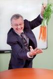 моркови качая большой motivator Стоковое Изображение
