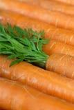 моркови органические Стоковые Изображения