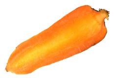 моркови половинные Стоковые Изображения RF