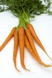 моркови сырцовые Стоковые Изображения RF
