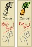 моркови иллюстрация вектора