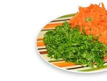Морковь и петрушка Стоковая Фотография RF
