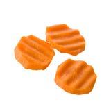 морковь отрезала стоковая фотография