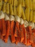 морковь отрезала стоковое фото rf
