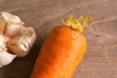 морковь старая Стоковые Фото