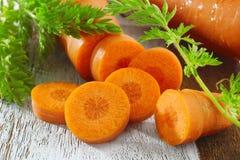 Морковь урожая Стоковая Фотография