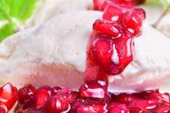 Мороженное ванили Стоковые Изображения