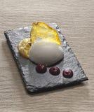 Мороженное ванили Стоковая Фотография