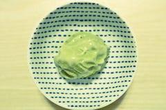 Мороженное зеленого чая Стоковое Изображение