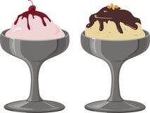 Мороженое. вектор Стоковое Изображение