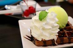 Мороженое лимона Стоковые Фото