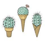 Мороженое кактуса Стоковое фото RF
