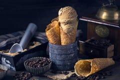 Мороженое кофе стоковое фото rf