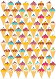 Мороженое красочное бесплатная иллюстрация