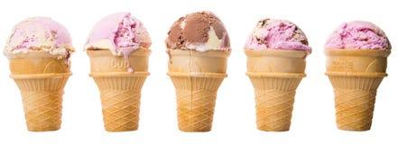 Мороженое приправленное смешиванием IV Стоковое Изображение