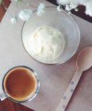 Мороженое с кофе Стоковое Фото