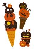 Мороженое хеллоуина Стоковые Изображения