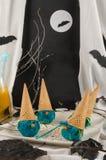 Мороженое хеллоуина Стоковые Фото