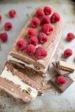Мороженое шоколада Vanille Стоковое Фото