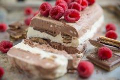 Мороженое шоколада Vanille Стоковая Фотография