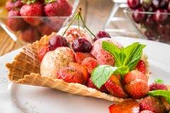 Мороженое ягоды Стоковая Фотография RF