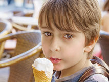 мороженое Стоковая Фотография RF