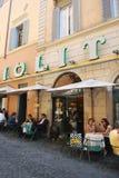 Мороженое Giolitti в Roma стоковое изображение