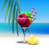 Мороженое Sundae бесплатная иллюстрация