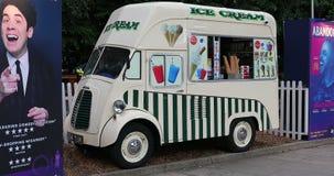 Мороженое Van Моррис коммерчески J типа акции видеоматериалы