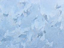 морозная естественная зима окна картины Стоковая Фотография RF