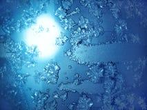 морозная естественная картина Стоковое Фото