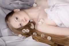 морозная женщина Стоковое Изображение