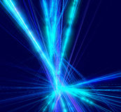 Морозная картина светит от центра в форме иллюстрация штока