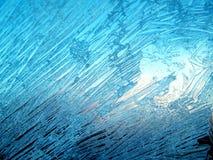 морозная картина Стоковые Фото