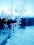 морозная картина Стоковая Фотография RF