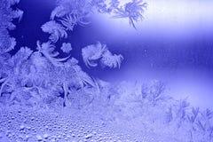 морозная картина Стоковое Изображение RF