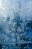 морозная картина Стоковые Изображения