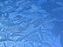 морозное окно картины Стоковые Фото