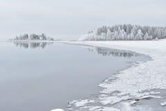 морозные валы Стоковое Изображение
