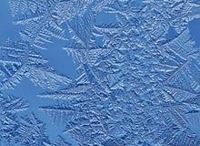 морозный орнамент Стоковое фото RF