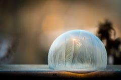 Морозный пузырь Стоковое Изображение RF