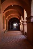Морокканская архитектура в земле Mopti Dogon Стоковое Фото