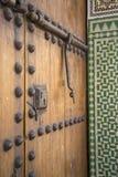 Морокканская дверь Стоковые Фото
