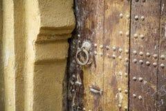 Морокканская дверь Стоковое Фото