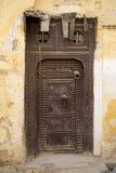 Морокканская дверь Стоковая Фотография