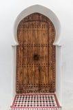 Морокканская дверь Стоковые Изображения RF