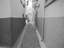 Морокканская женщина улицы Стоковые Фото