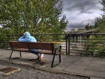 Морокканская женщина улицы Стоковая Фотография RF
