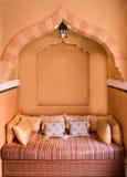 Морокканская Жить-комната стоковое изображение rf